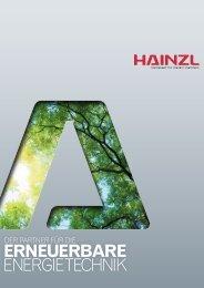 ERNEUERBARE ENERGIETECHNIK - Hainzl Industriesysteme