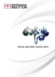HELICAL AND BEVEL-HELICAL UNITS
