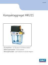 Kompaktaggregat MKU11 - SKF.com
