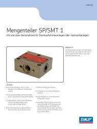 Mengenteiler SP SMT 1 0901d196800518b4 - SKF.com