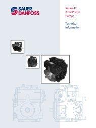 Series 42 Axial Piston Pumps Technical Information - Hainzl