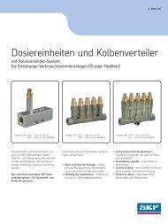 Dosiereinheiten und Kolbenverteiler - Hainzl