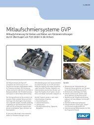 Mitlaufschmiersysteme GVP