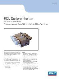 RDI, Dosiereinheiten
