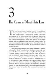 Chapter 3 – The Cause of Most Hair Loss - Hair Doc
