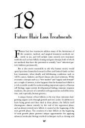 Chapter 18 – Future Hair Loss Treatments - Hair Doc