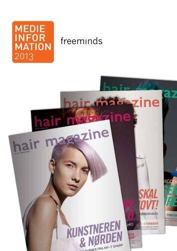 MEDIE INFOR MATION 2013 - Hairmagazine.dk