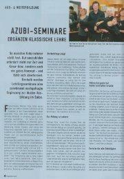AZUBI-SEMINARE