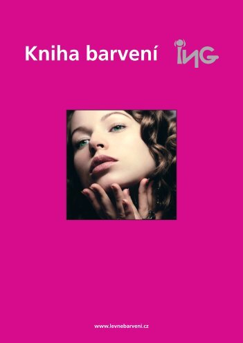 ING kniha barvení.indd - Hair servis