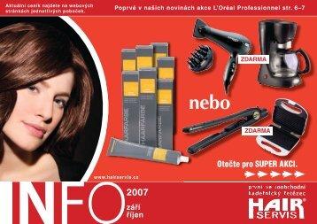 září - říjen 2007 - Hair servis