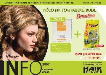 červenec - srpen 2007 - Hair servis