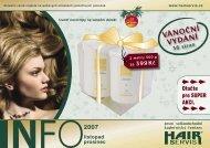 listopad / prosinec - Hair servis