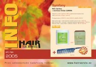 září - říjen 2005 - Hair servis
