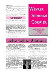 Courier Feb. 05 - Institut für Geistheilung und Naturheilung