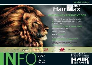 březen - duben 2007 - Hair servis