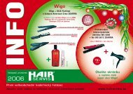 listopad - prosinec 2006 - Hair servis