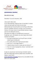 Newsletter 112 vom 08.11.09