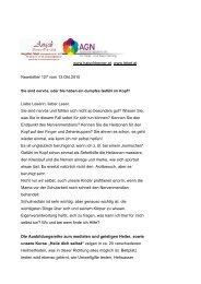 Newsletter 127 vom 13.10.10