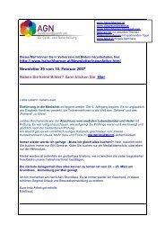 Newsletter 39 vom 11.02.07