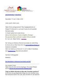Newsletter 117 vom 03.03.10