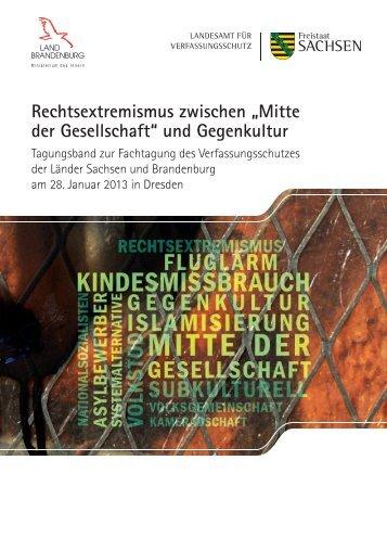 Rechtsextremismus in der Mitte der Gesellschaft? - Hannah-Arendt ...