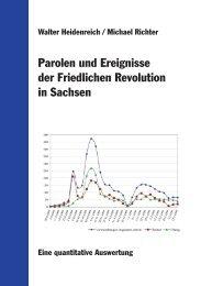 Parolen und Ereignisse der Friedlichen Revolution in Sachsen