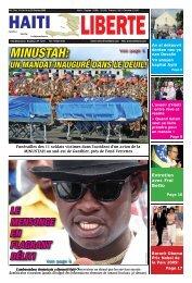 MINUSTAH: - Haiti Liberte