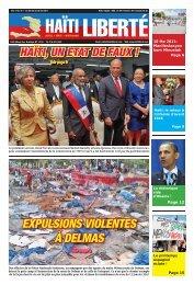 EXPULSIONS VIOLENTES À DELMAS - Haiti Liberte