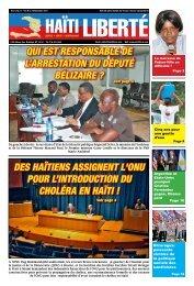 Des Haïtiens assignent l'OnU pOUr l'intrODUctiOn DU ... - Haiti Liberte