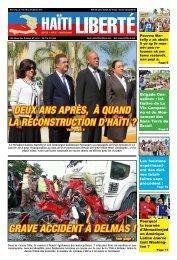 Grave acciDent à Delmas ! - Haiti Liberte