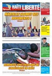 MARTELLY SOUMET SES DOCUMENTS ! - Haiti Liberte