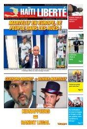 Martelly en europe, le peuple dans les rues ... - Haiti Liberte