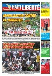 MOBILISATION CONTRE LA MINUSTAH - Haiti Liberte