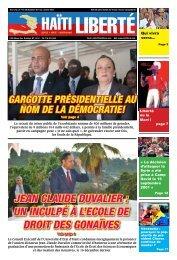 Jean Claude duvalier : un inCulpé à l'eCole de droit ... - Haiti Liberte