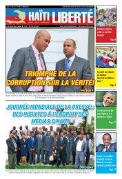 Triomphe de la corrupTion sur la vériTé! - Haiti Liberte
