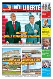 Haïti-RD: Quelle HistoiRe De complot! le campus De ... - Haiti Liberte
