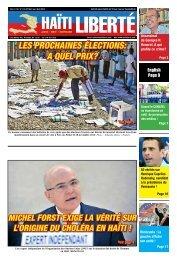 les prochaines élections: a quel prix? - Haiti Liberte