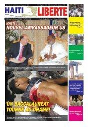 UN BACCALAURéAT TOURNé AU DRAME! - Haiti Liberte