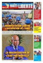 la Macoutisation de l'etat par Martelly - Haiti Liberte