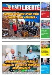 sombre histoire d'une haïti « ouverte aux affaires ... - Haiti Liberte