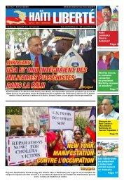 USA ET ONU INTÉGRAIENT DES MILITAIRES ... - Haiti Liberte