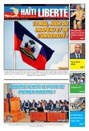 18 Mai, jour du drapeau et de l'université ! - Haiti Liberte
