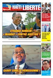 la maCou l'etat pa - Haiti Liberte