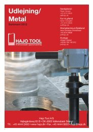 Udlejning/ Metal - HAJO TOOL A/S