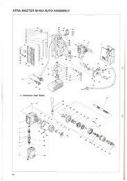 ATRA MASTER M-450 AUTO ASSEMBLY - HAJO TOOL A/S