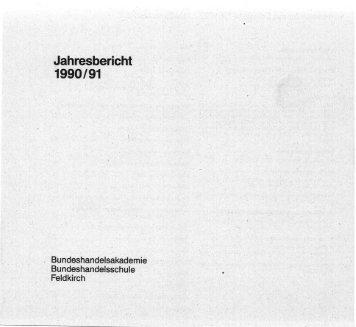 Jahresbericht - Hak Feldkirch