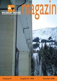 Jahrgang 09 . Ausgabe 02 / 2008 . Dezember 2008