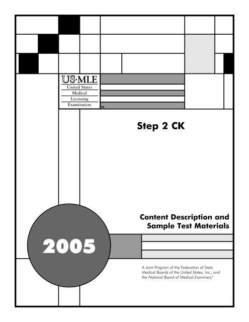 Step 2 CK