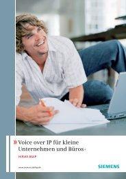 Voice over IP für kleine Unternehmen und Büros - Hakom IP ...