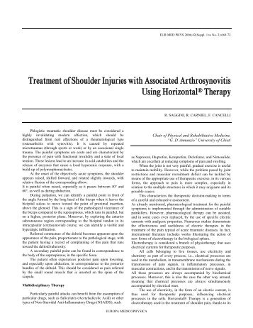Artroza tratamentului articular sternoclavicular